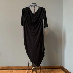 St. John Dress w/Asymmetrical hemline